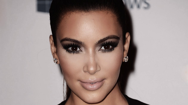 Kim Kardasian with almond shaped eyes - Dark Eye circles by Dr Gerard Ee Singapore